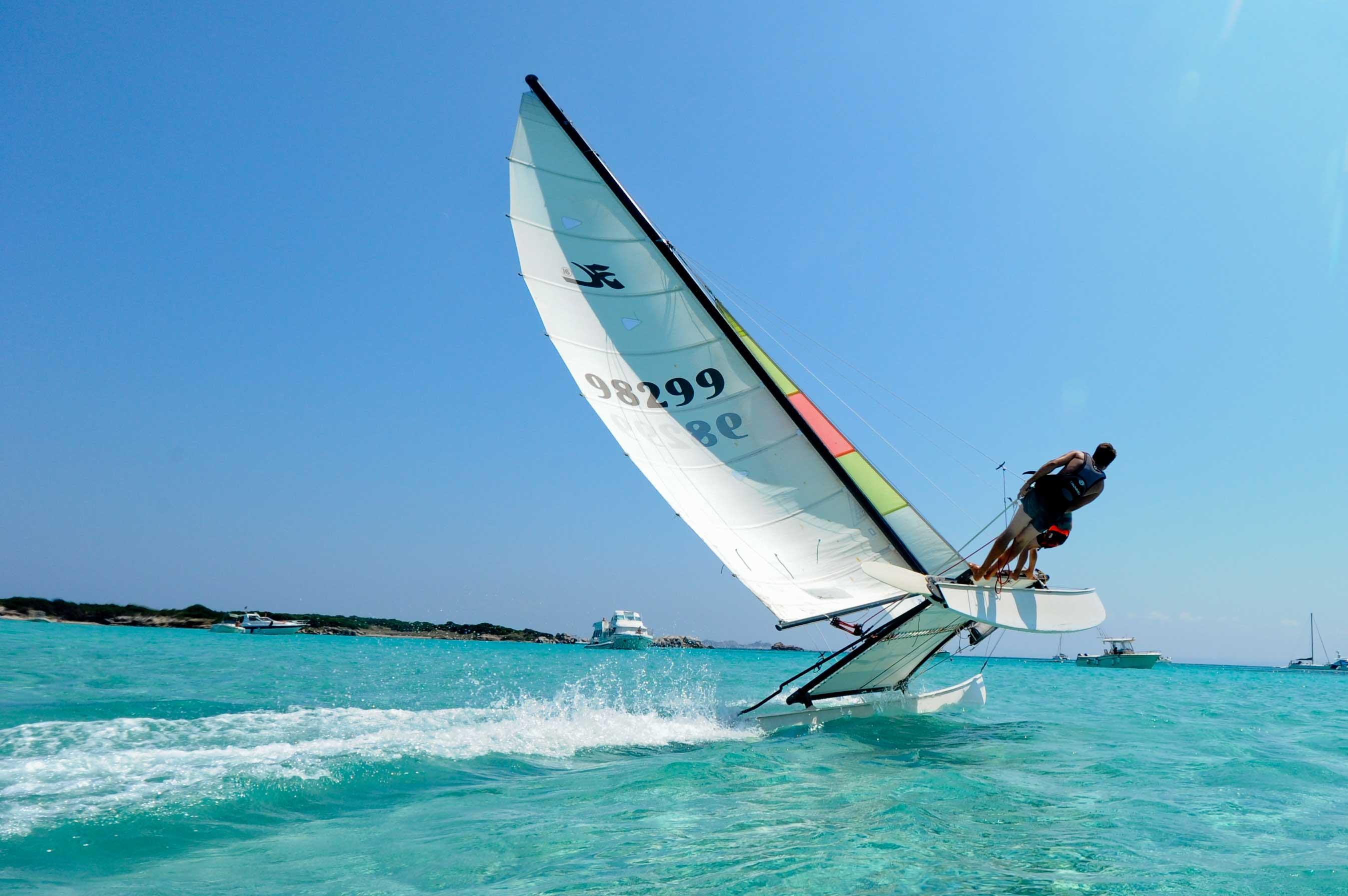 Club de voile de bonifacio plong e activit s nautiques - Voile de forcage au metre ...