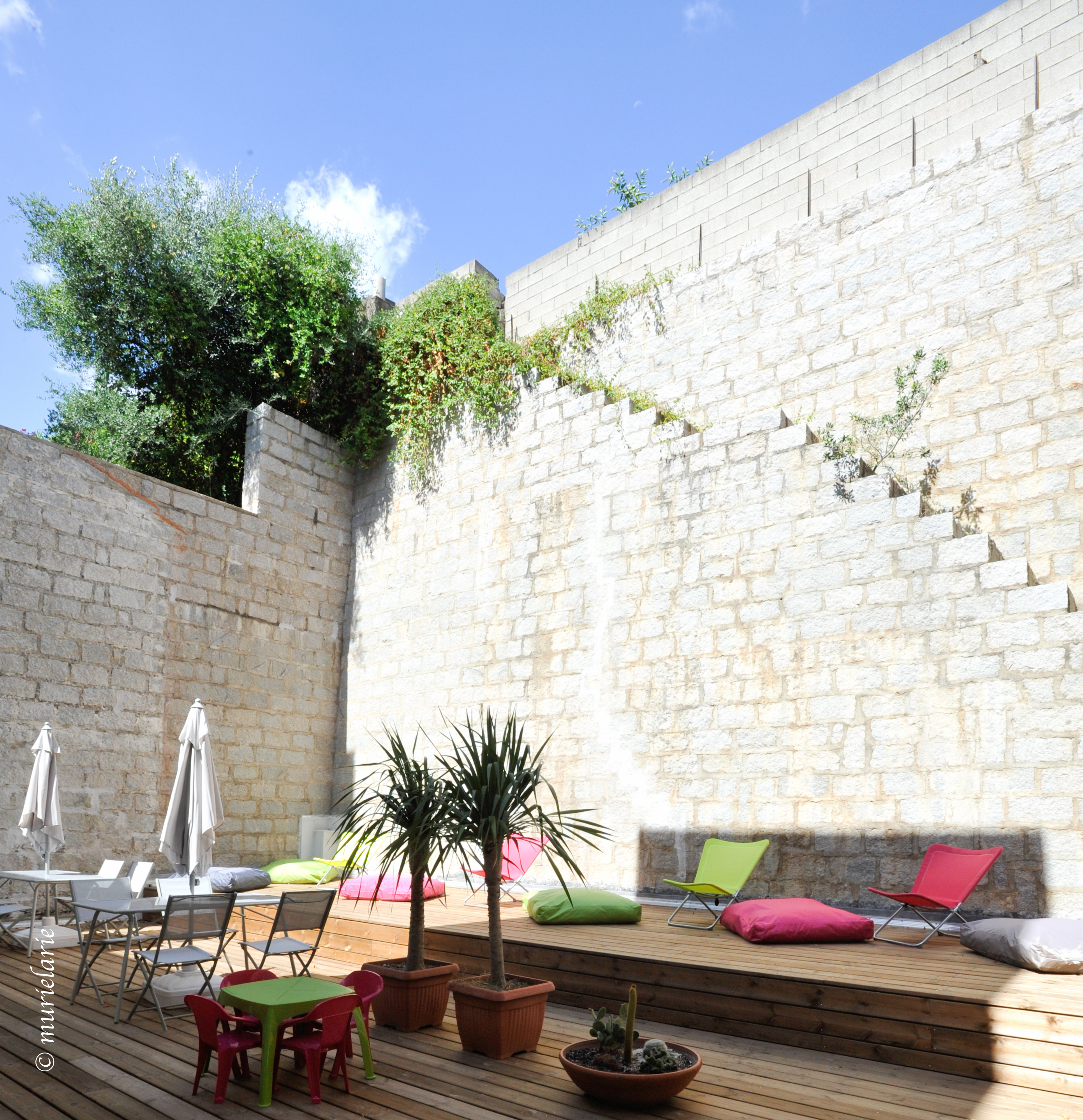 Residence hoteliere corse sud for Residence hoteliere