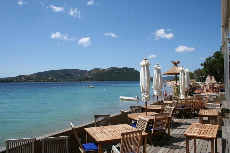 Le ranch 39 o plage where to eat porto vecchio south corsica for Appart hotel porto vecchio