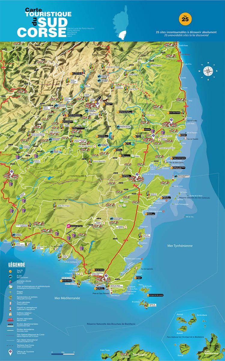 Corse du sud tourisme voyages cartes - Office du tourisme porto corse ...