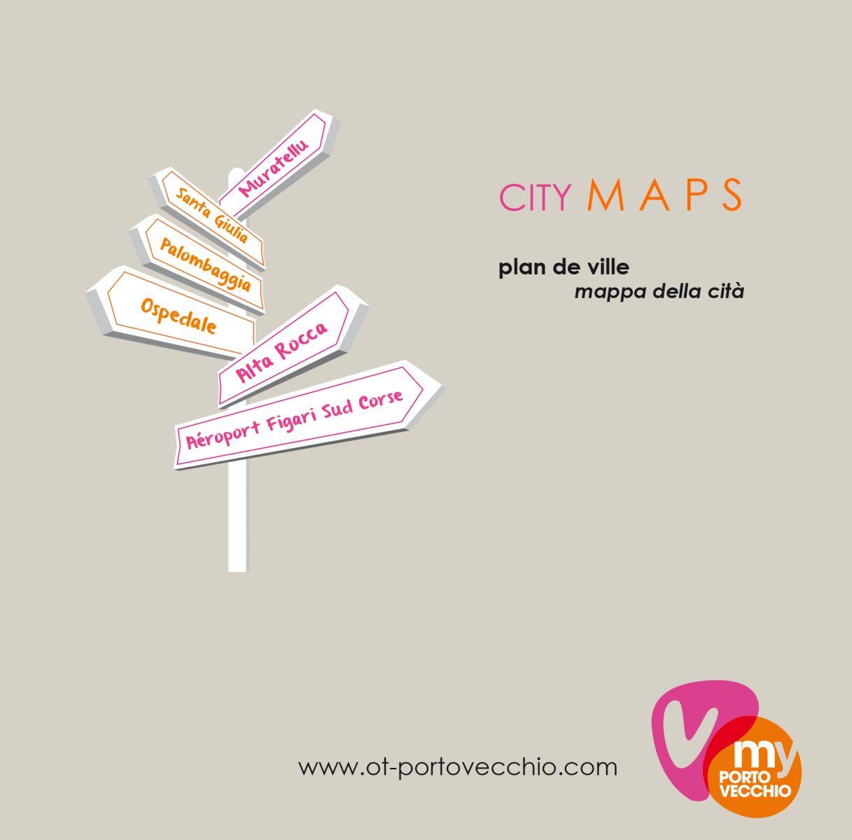 plan porto-vecchio region ville citadelle corse
