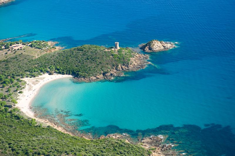 Plage Sud Corse Fautea