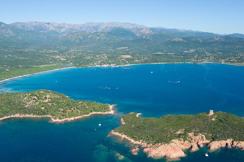 Plage Sud Corse Pinarellu